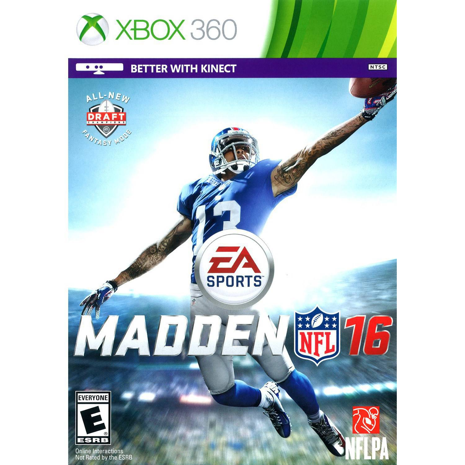 Madden NFL 16, Electronic Arts, Xbox 360, 014633733792
