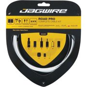 Jagwire Road Pro Complete Shift and Brake Cable Kit, White