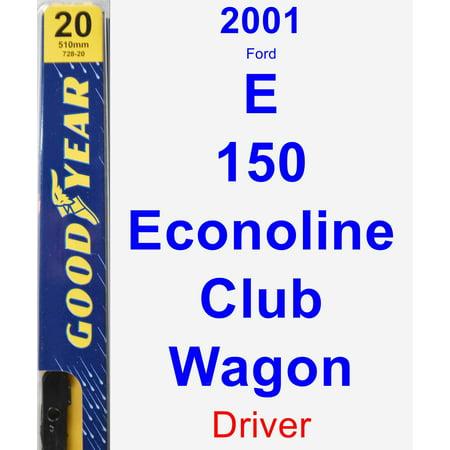 2001 Ford E-150 Econoline Club Wagon Driver Wiper Blade - Premium ()