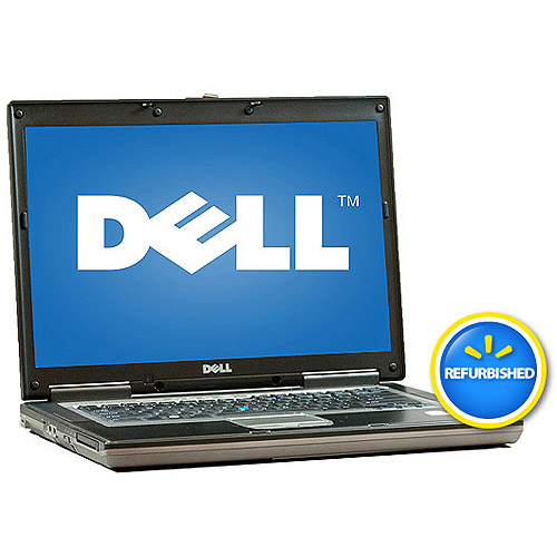 """Dell Pre-Owned,  Refurbished Black 15.4"""" D830 Laptop PC with Intel Core 2 Duo Processor and Windows 7 Home Premium"""