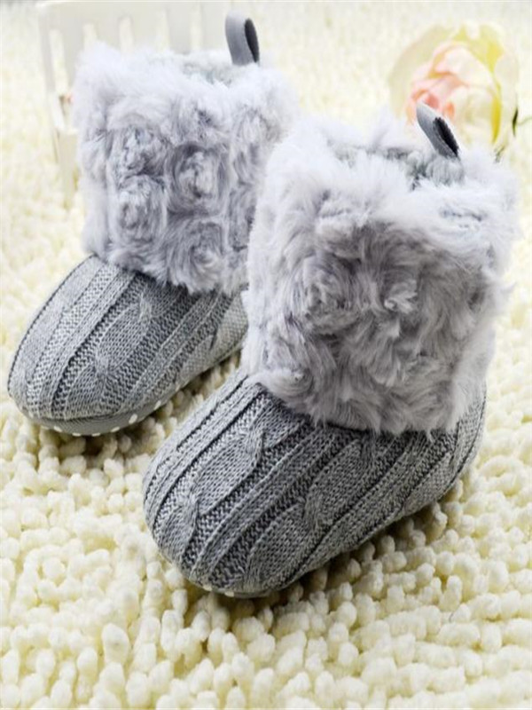 Baby Snow Boots Soft Crib Shoes Toddler Boots