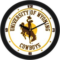 Suntime ST-CO3-WYC-WCLOCK Wyoming Cowboys-Traditional Wall Clock