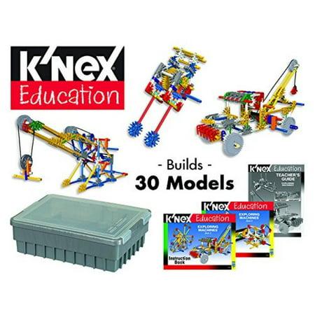 K'NEX Education - Exploring Machine Set - 1432 Pieces - Ages 8 Construction Educational Toy