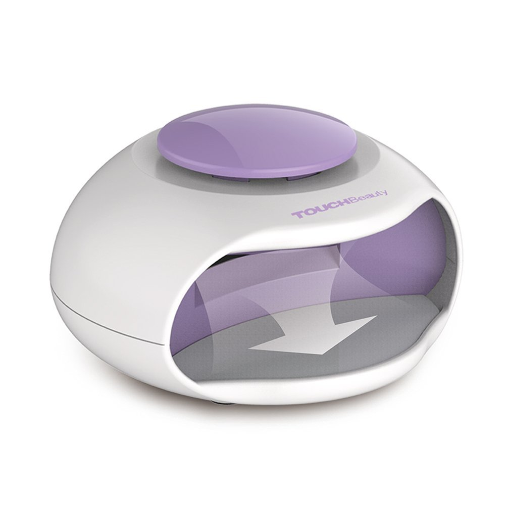 Touch Beauty Mini 2 in 1 LED Light and Wind Nail Dryer for Regular ...
