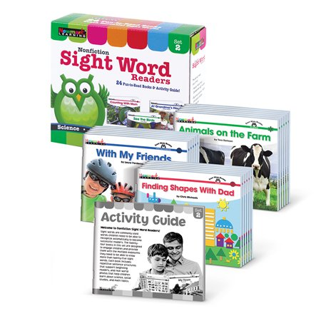 Early Reader Boxed Sets: Nonfiction Sight Word Readers Single Copy Set 2 (Other)