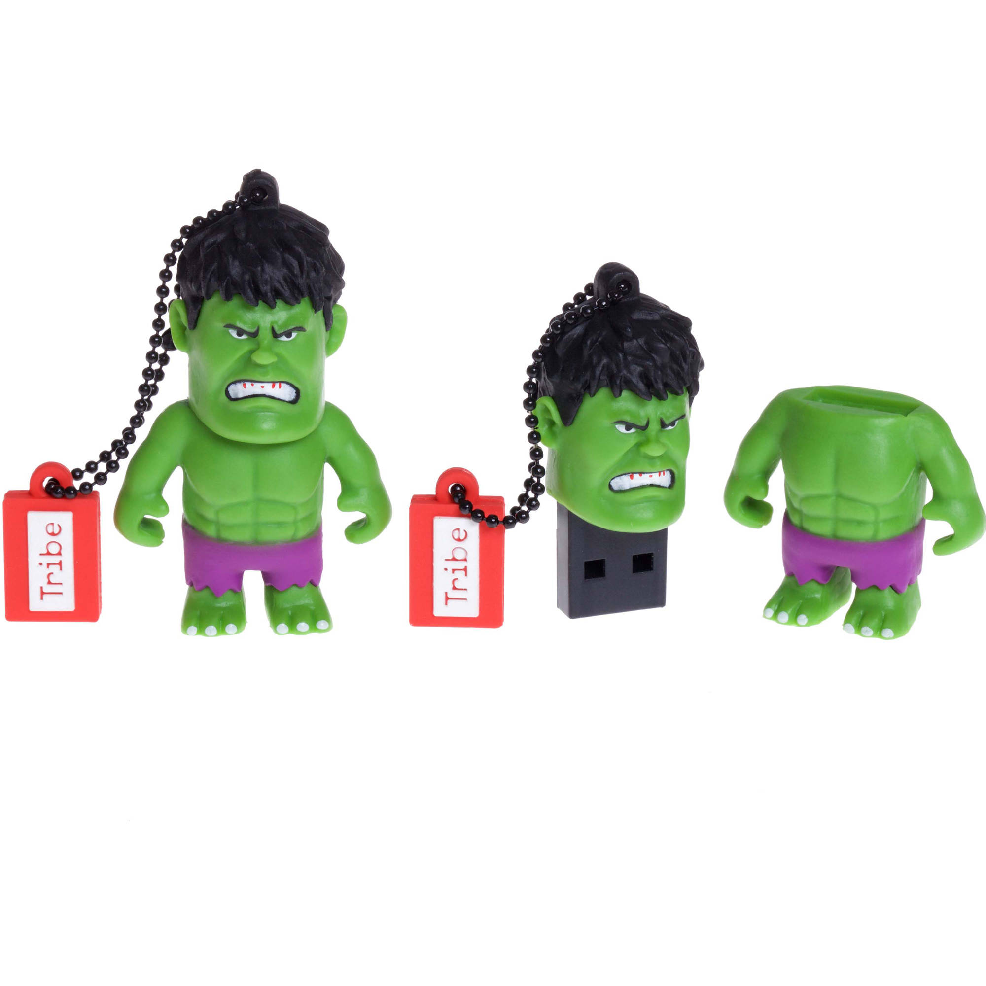 "Tribe USB Flash Drive 16GB Marvel ""The Avengers"" Hulk Collectible Figure"