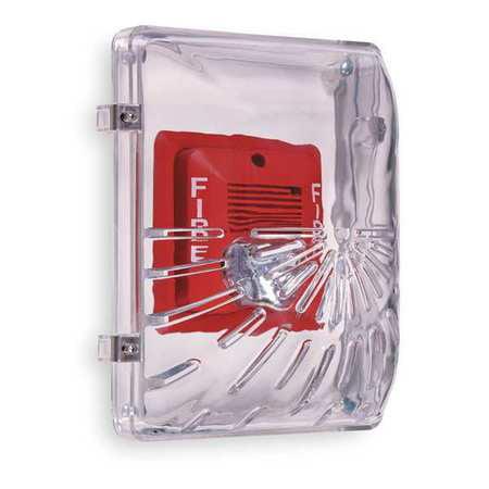 Audible and Strobe Guard,Flush,4inD SAFETY TECHNOLOGY INTERNATIONAL STI-1210E