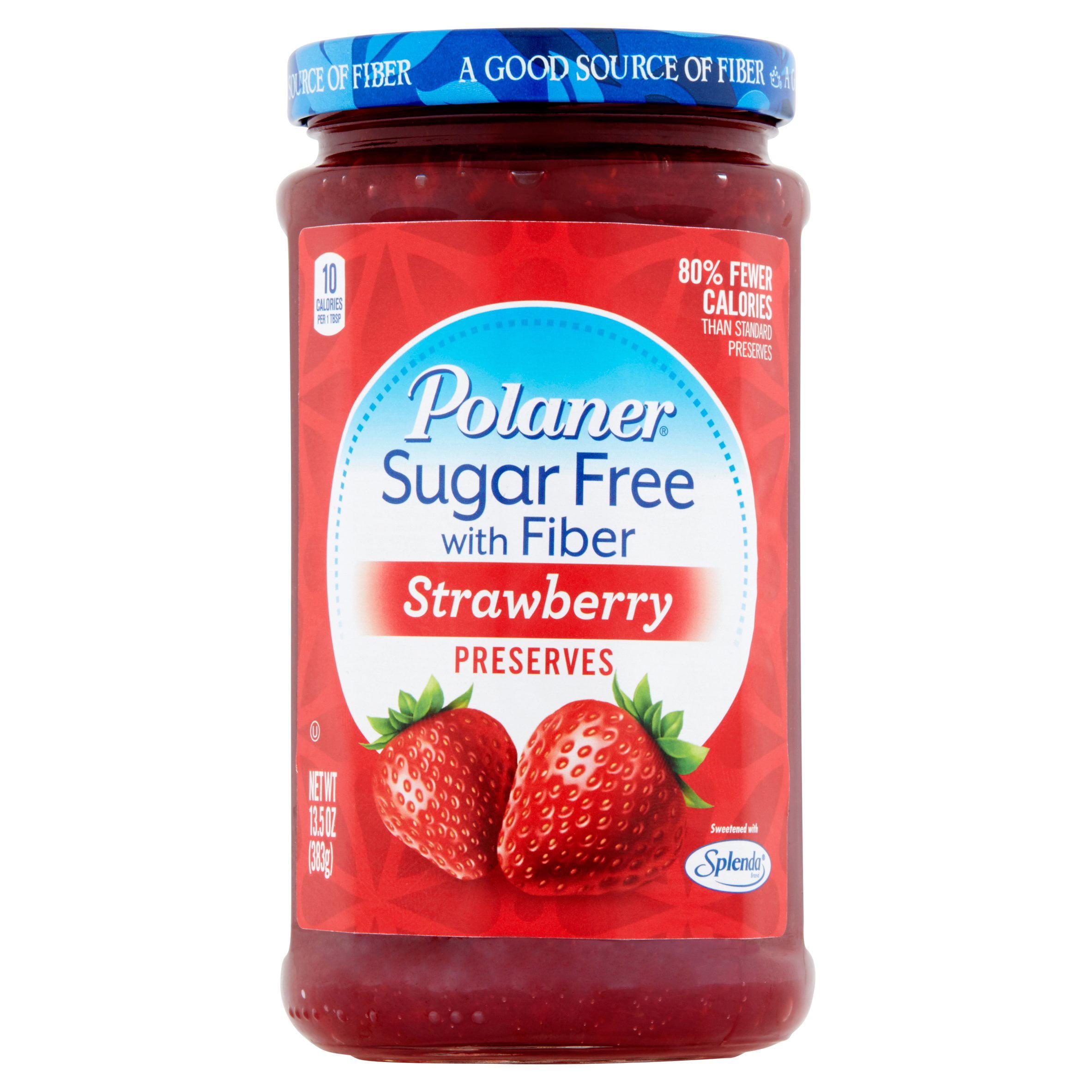 Polaner Strawberry Preserves, 13.5 oz