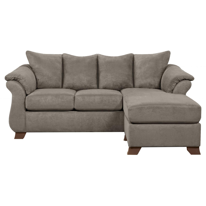 Cambridge Traditions Chaise Sofa in Gray