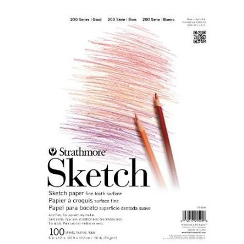 "Strathmore 9"" x 12"" Tape Bound Sketch Pad"