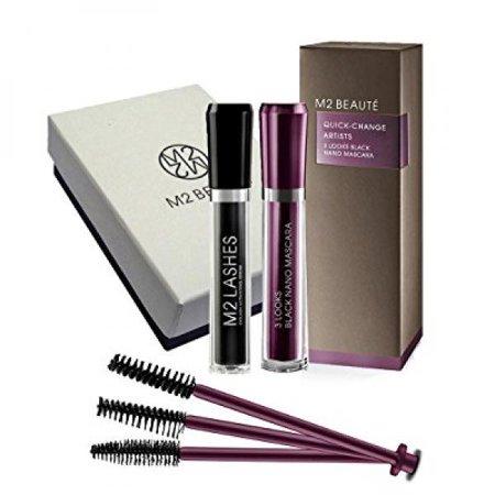 b05bbd1b544 M2Beaute Mascara & Eyelash Activating Serum 5ml - 3 LOOKS BLACK NANO ...