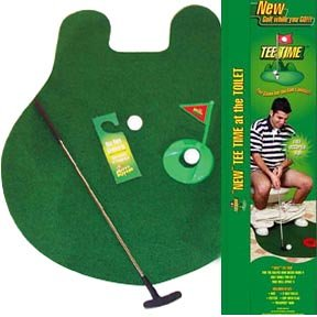 Toilet Golf Game by