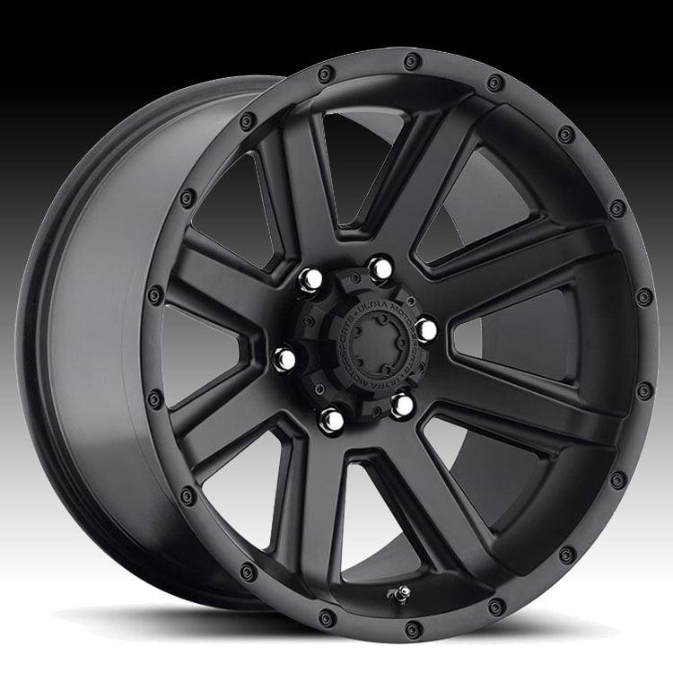 Ultra 195 Crusher Satin Black 20x9 8x6.5 18mm (195-2982SB)