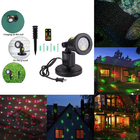 RGB Dynamic Laser Projector Garden Lawn Light for Halloween/Holiday/Christmas](Halloween Sound Light Laser Show)