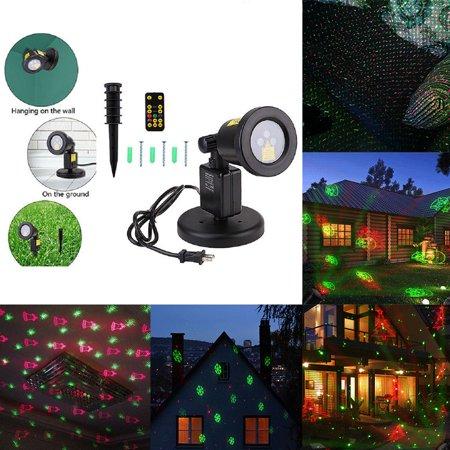 Halloween Laser Lights (RGB Dynamic Laser Projector Garden Lawn Light for)