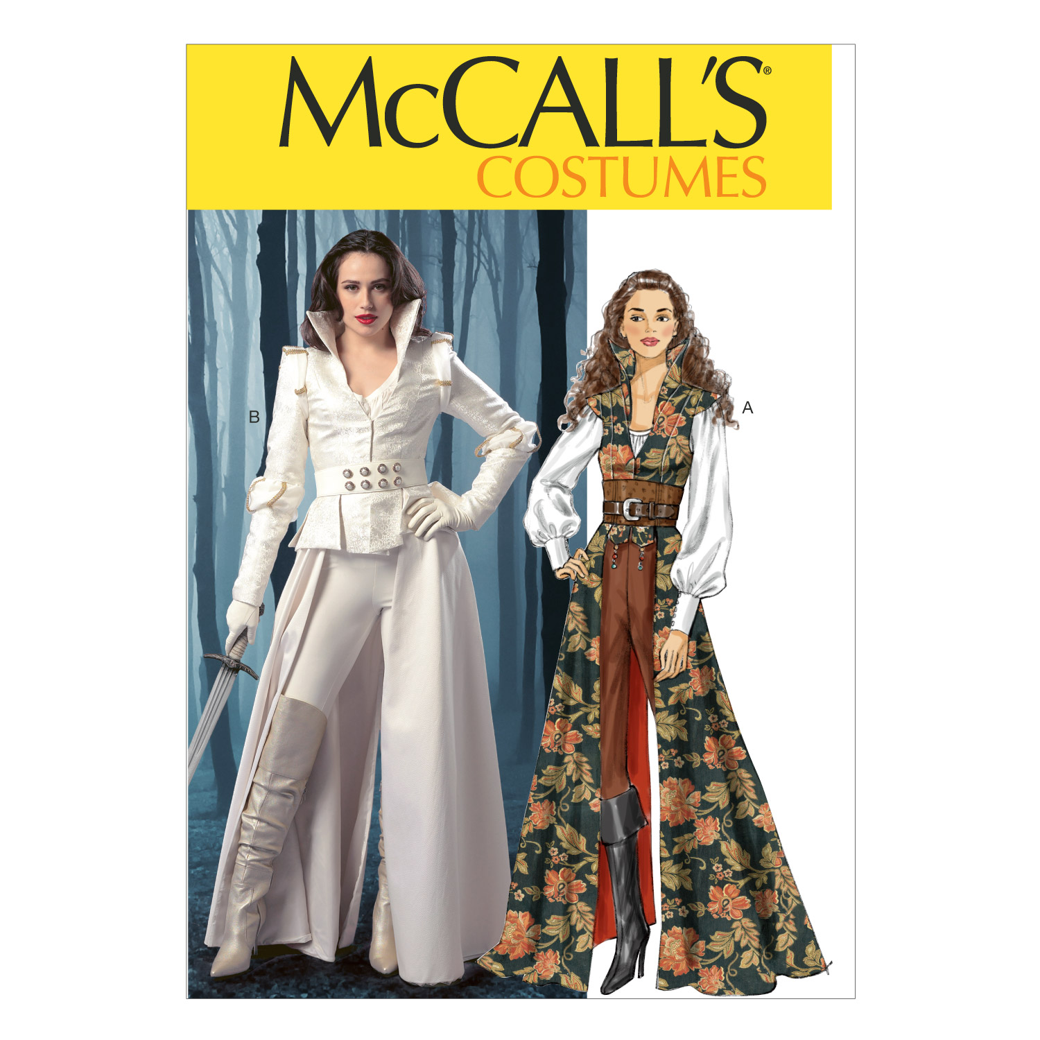 Misses' Costumes-6-8-10-12-14 -*SEWING PATTERN* - image 1 de 1