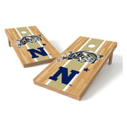 TTXL Shield Hardwood College United States Naval Academy Bean Bag Toss Game