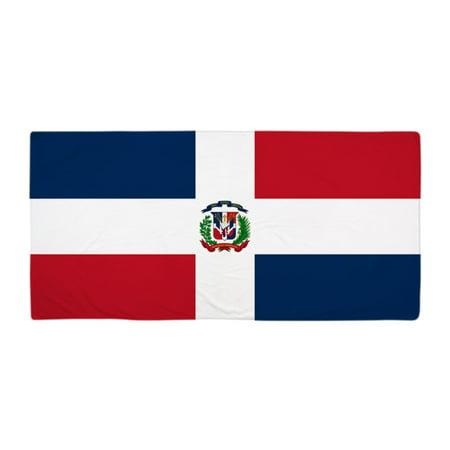 "CafePress - Dominican Republic Flag - Large Beach Towel, Soft 30""x60"" Towel with Unique Design"