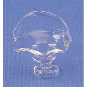 Dollhouse Glass Pedestal Fruit Basket