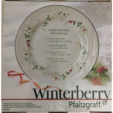 Pfaltzgraff Winterberry Family & Friends Plate of Sharing Platter Serving-RARE