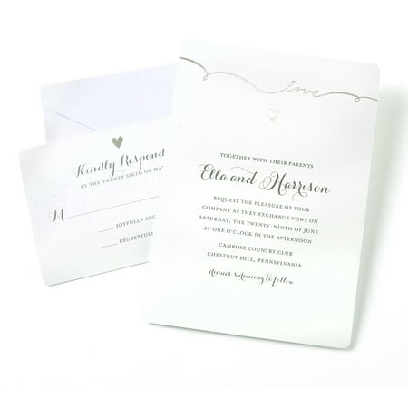 Gartner Studios Love Invitations - Walmart.com