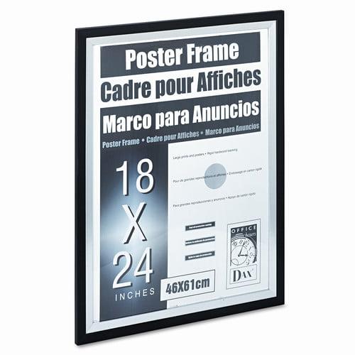 dax metro series poster wood frame 18 x 24 walmartcom