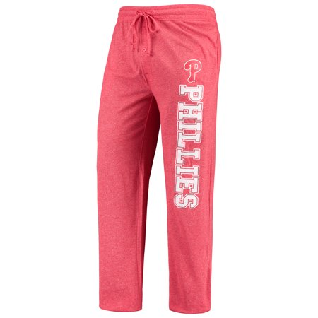 Philadelphia Phillies Pants - Philadelphia Phillies Concepts Sport Quest Pants - Heathered Red