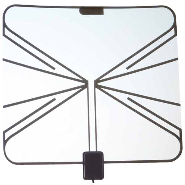 QFX ANT 17 HD/DTV Ultrathin Transparent Antenna