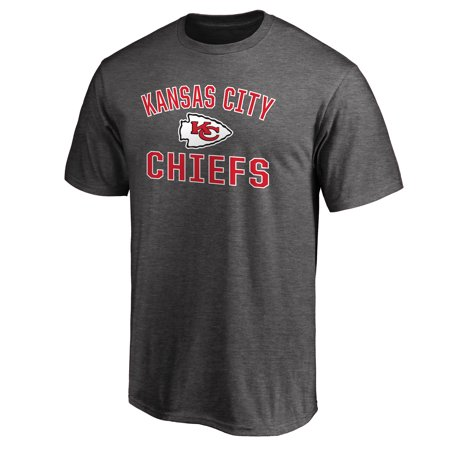 Kansas City Chiefs NFL Pro Line Victory Arch T-Shirt - Gray ()