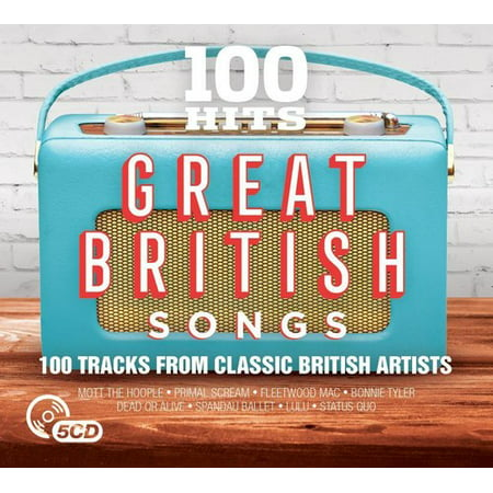 100 Hits: Great British Songs / Various (CD) ()