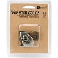 Mechanicals: Tin Hearts 10pc.
