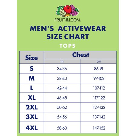 3b54fc1c74c246 Fruit of the Loom - Men s Dual Defense UPF Crew T Shirt