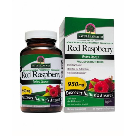 (Red Raspberry Leaf Nature's Answer 90 Caps)
