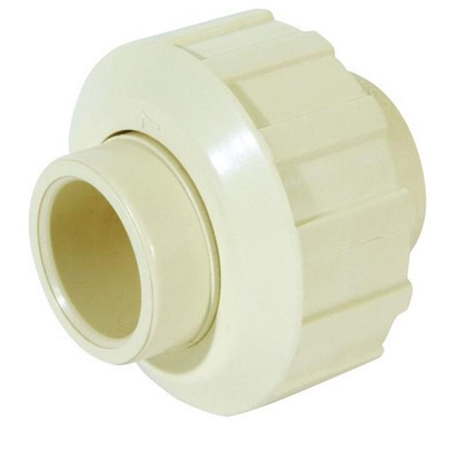 Tan CAV-0500-12C 1//2-Inch Slip by 1//2-Inch Compression PXL CPVC Quarter Turn Angle Supply Valve King Brothers Inc