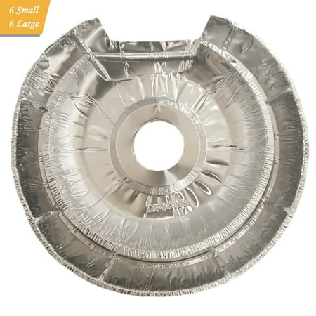 Beeples Electric Stove Disposable Drip Pan Liner Set 12