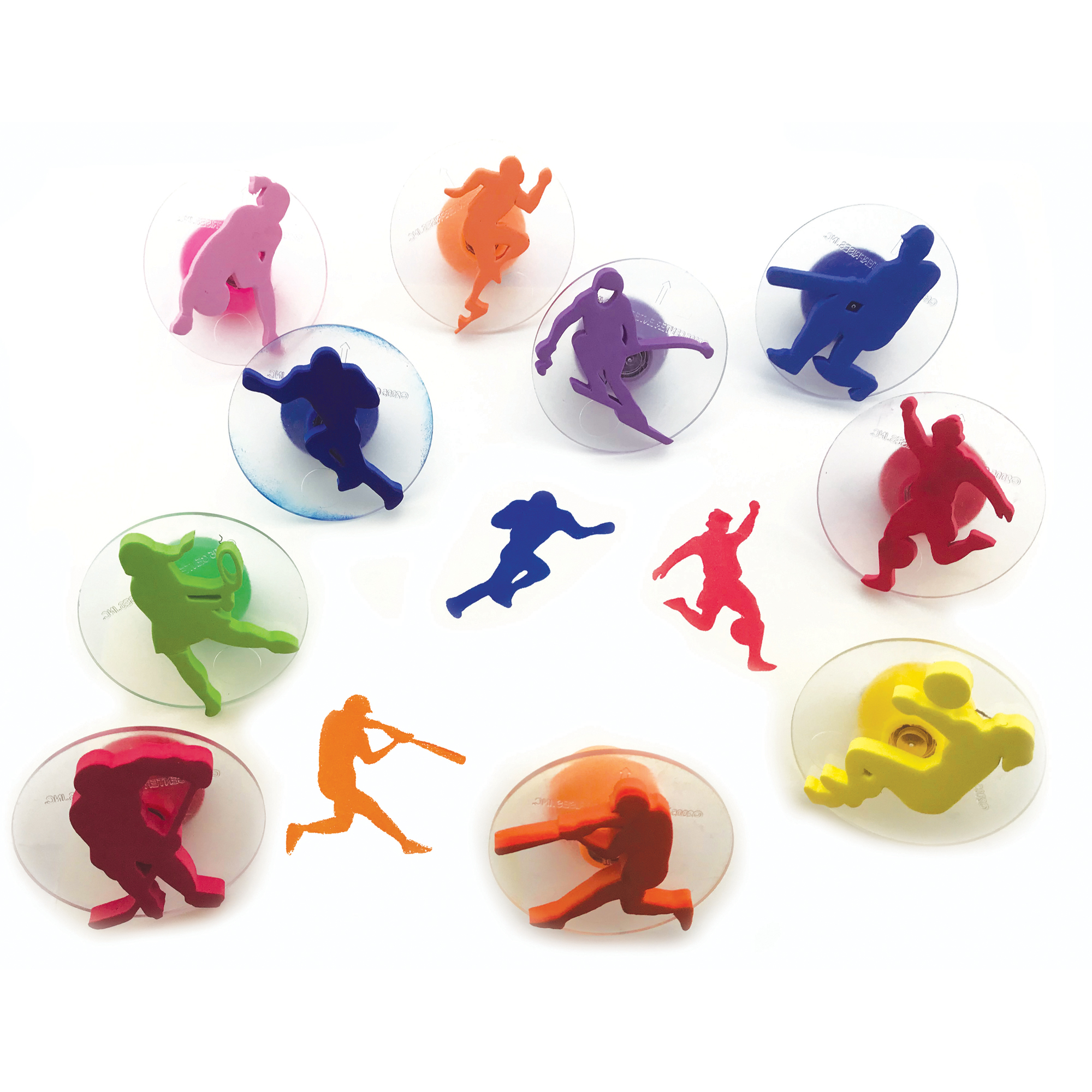 Ready2Learn™ Giant Stampers, Sports, set of 10