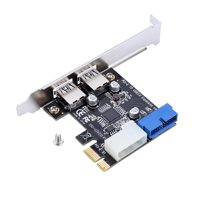FAGINEY PCI-E To USB3.0 Expansion,PCI-E To USB3.0,PCI-E To USB3.0 Expansion Card Adapter With Front 19PIN Interface