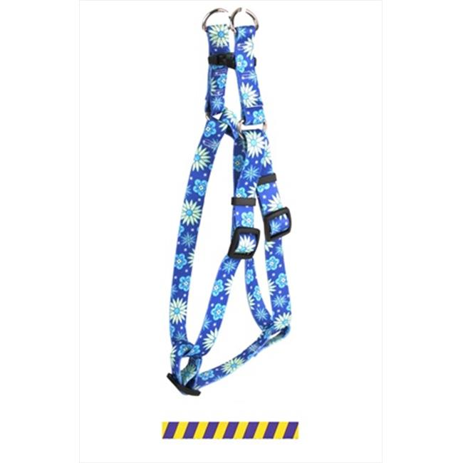 Yellow Dog Design SI-TSGP102M Team Spirit Gold and Purple Step-In Harness - Medium