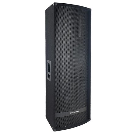 sound town dual 15 1400w 2 way full range passive dj pa pro audio speaker with titanium. Black Bedroom Furniture Sets. Home Design Ideas