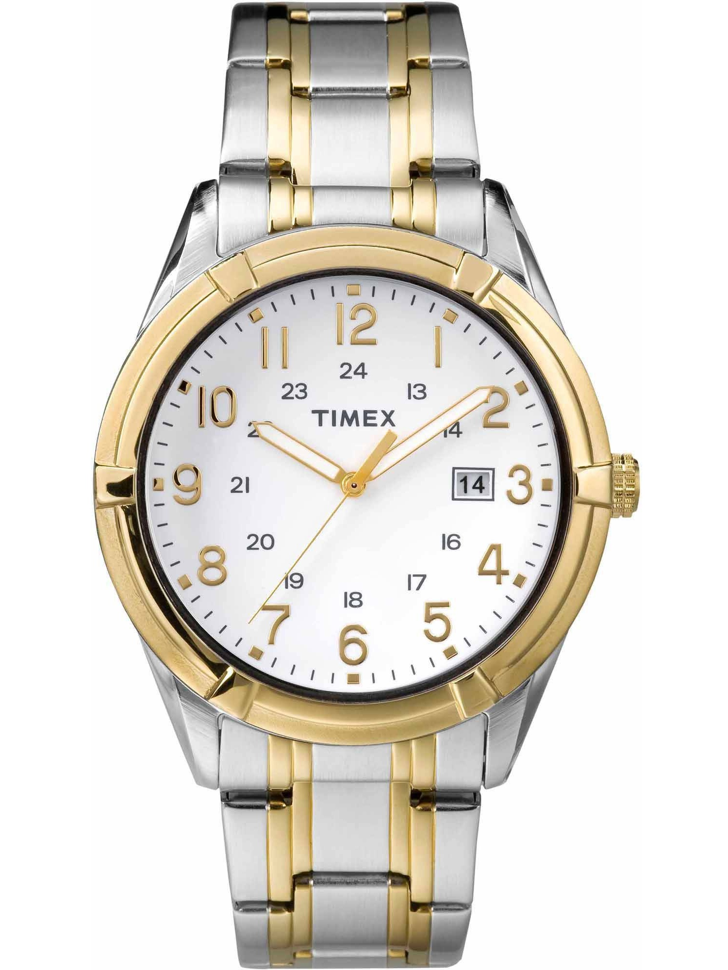 Timex Men's Easton Avenue Watch, Two-Tone Stainless Steel Bracelet