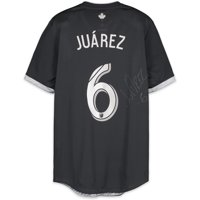 Efrain Juarez Vancouver Whitecaps FC Autographed Match-Used White #6 Jersey from the 2018 MLS Season - Fanatics Authentic Certified