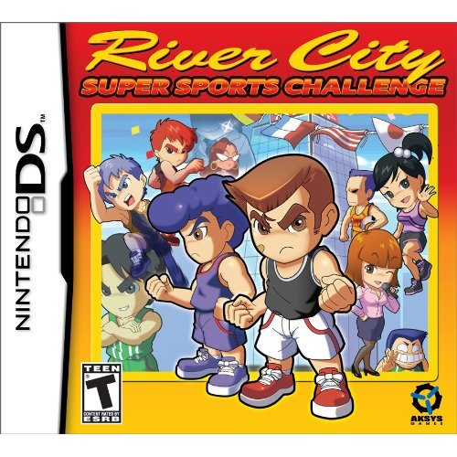 Aksys River City Super Sports Challenge - Sports Game - Cartridge - Nintendo DS