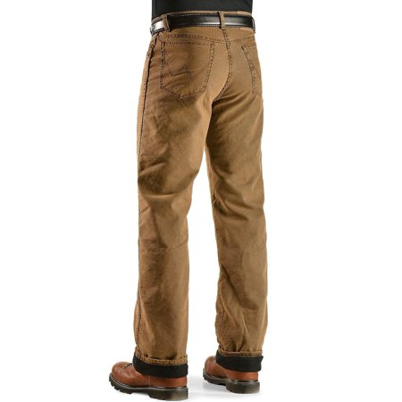 9cbbaa72 Wrangler - Wrangler Men's Jeans Rugged Wear Relaxed Fit Flannel Lined -  33213Sw - Walmart.com