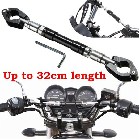 MATCC Motorcycle Handlebar Cross Bar Adjustable CNC Alloy Universal Motorbike For Honda   Harley