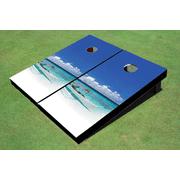 South Sea Themed Cornhole Boards
