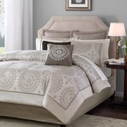 Home Essence Madeline 12 Piece Bed in a Bag Comforter Set
