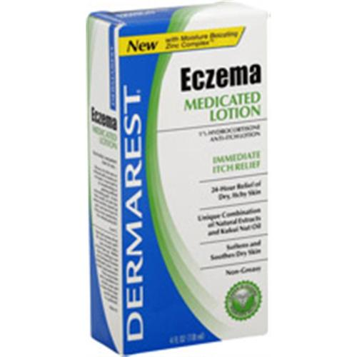 Dermarest Eczema Medicated Lotion 4 oz (Pack of 2)