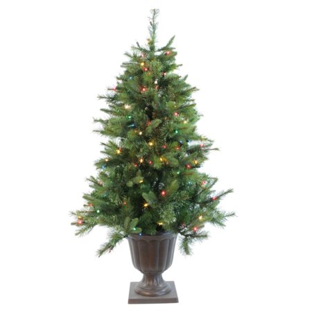 5 39 Pre Lit Cashmere Potted Artifical Christmas Tree Led