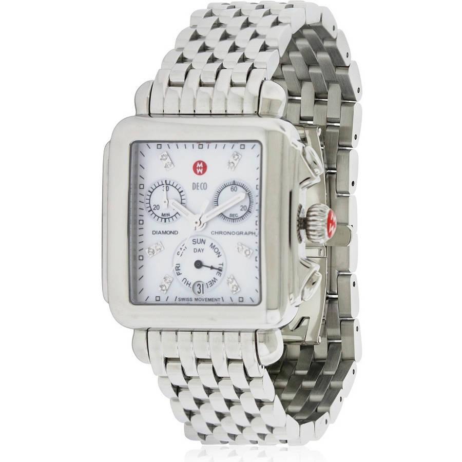 Michele Deco Day Diamond Women's Watch, MWW06P000014 by Michele