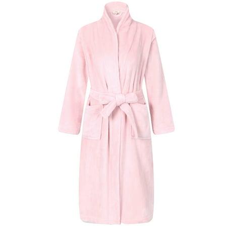 Richie House Girls' Soft and Warm Robe Bathrobe AM2518 (Childrens Robes)